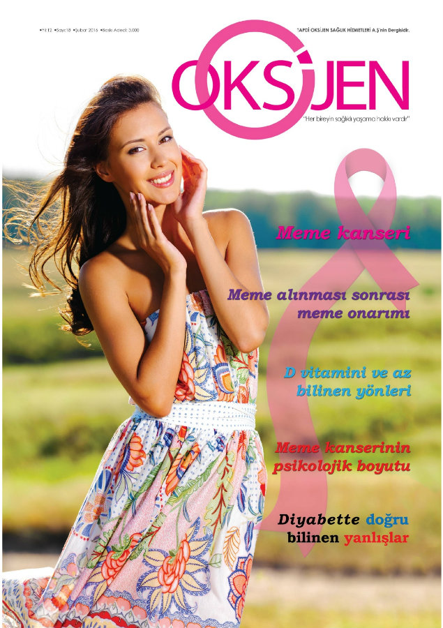 Oksijen dergi kapak resmi